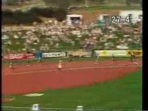 Marita koch world record 400mts youtube for Koch 400m world record