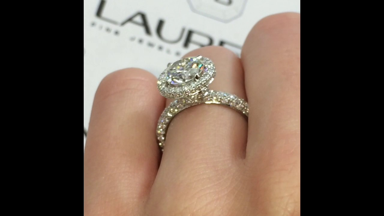 Carat Diamond Ring Double Halo