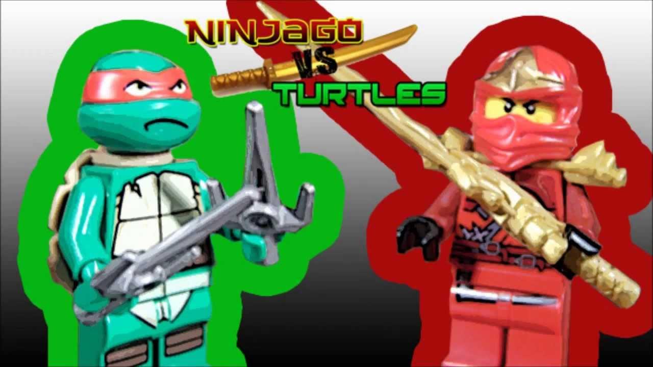 Raphael vs kai zx ninjago vs turtles youtube - Ninjago kai zx ...