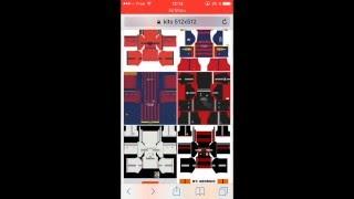 Dream League Soccer 2016 /\ Importer un maillot/kits d'équipe