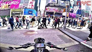 dip into TIMES SQUARE, NYC - all around it and into Queens Madness v763