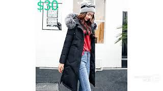 Одежда с AliExpress .Пальто с мехом. Куртка Парка на пуху.