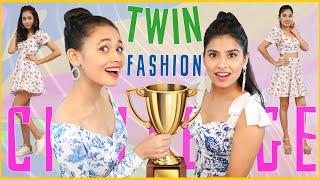 Fashion DARE Challenge - TWIN CHALLENGE | Episode 7 | DIYQueen