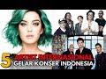 Konser Musik Internasional di Indonesia Tahun 2018 yang Wajib Ditonton