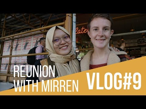 VLOG#9 Reunion with Mirren | Finding Part-time Job in Melbourne