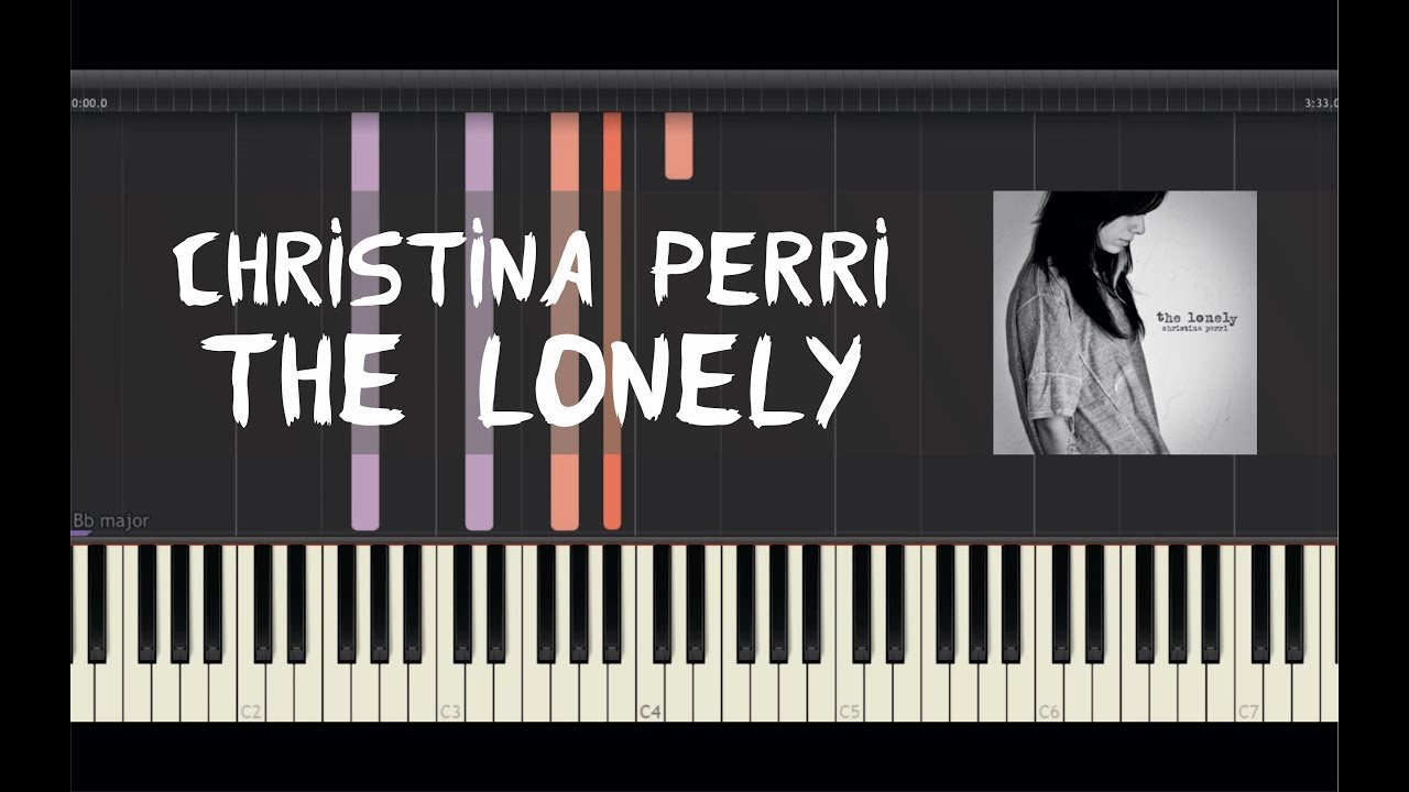 Christina perri the lonely piano tutorial by amadeus christina perri the lonely piano tutorial by amadeus synthesia baditri Gallery