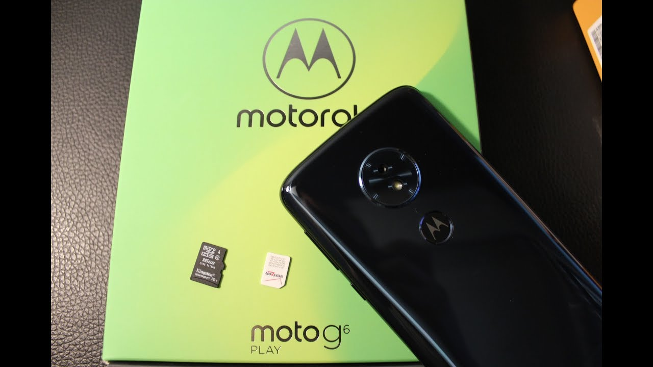 Motorola Moto G6    How to remove / install SIM AND MEMORY CARD