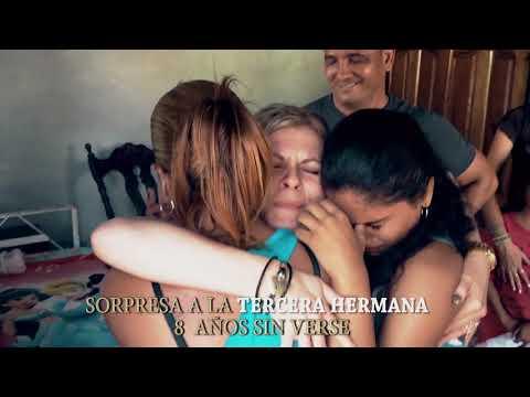 VIAJE DE SORPRESA A CUBA Después De 7 Años- Familia En Cuba - Llegar A Cuba Viaje