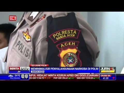 Ribuan Personel Polres Banda Aceh Dites Urine