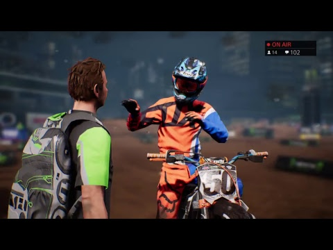 monster energy supercross the game ps4 youtube. Black Bedroom Furniture Sets. Home Design Ideas
