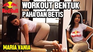 Red Bull Gold Workout At Home : Workout Using Chair Feat. Maria Vania