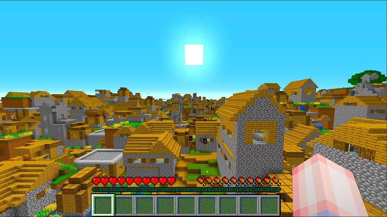 ถ้าทั้งโลกมายคราฟกลายเป็นหมู่บ้านNPC...