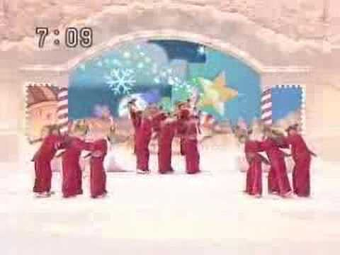 Morning Musume - Rudolf the red nosed reindeer Xmas