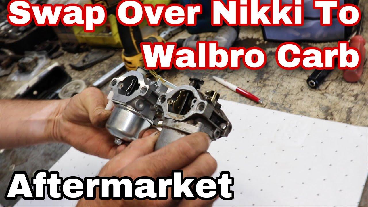Swap Over A Nikki Carb To Walbro