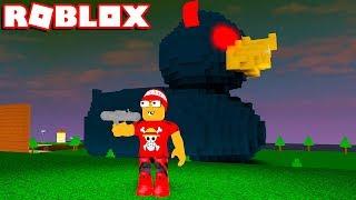Tente DESTRUIR o PATO GIGANTE no ROBLOX ❗❕❗ → Destroy The Giant Duck 🎮