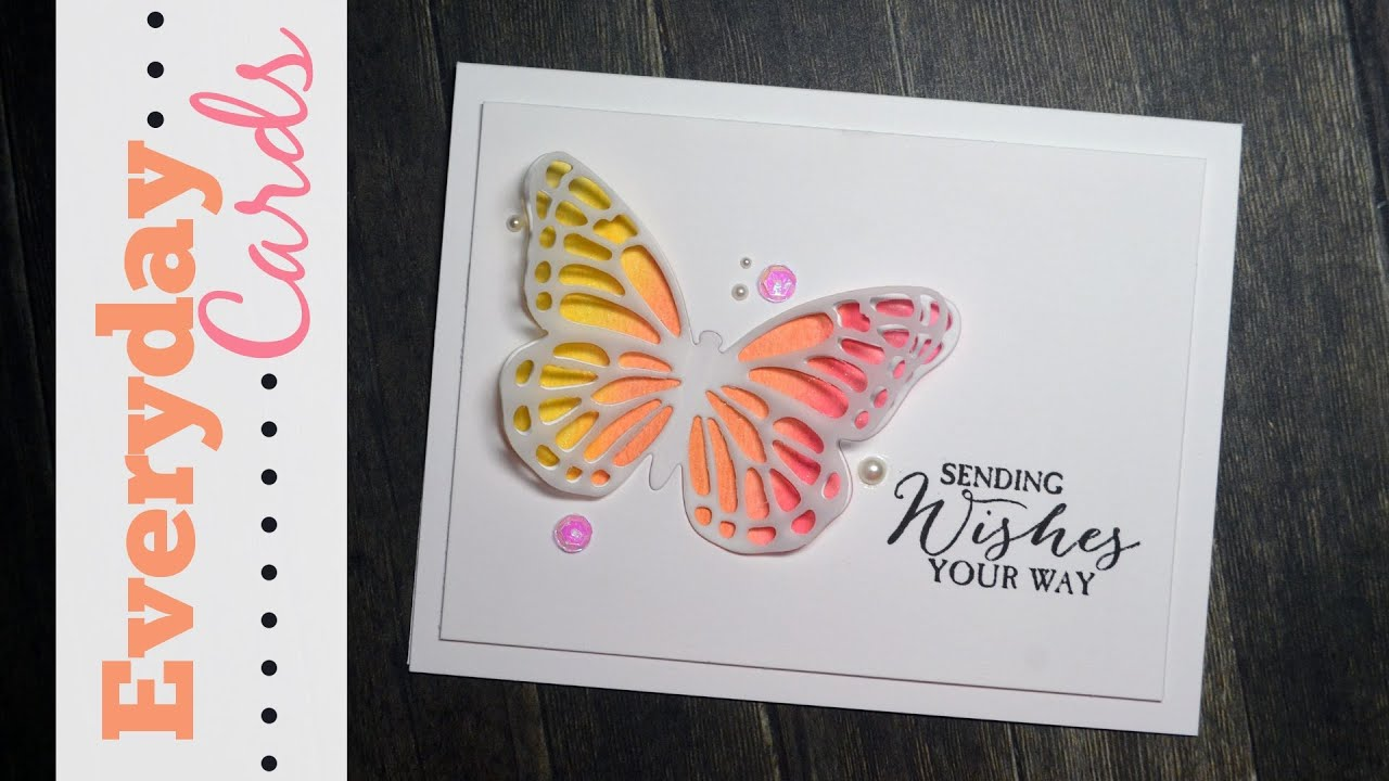 Butterfly Birthday Card – Butterfly Birthday Card