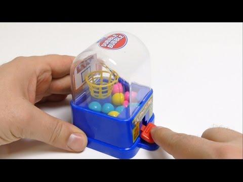SLAM DUNK Dubble Bubble Mini Gumball Machine Toy