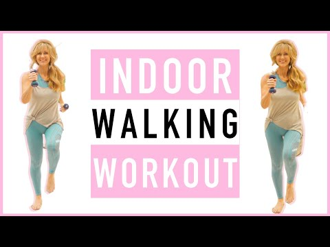 TONED ARMS Walking Workout For Women Over 50 | Indoor Workout!