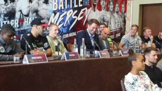HEATED INSULTS! - TOM STALKER & SEAN MASHER DODD TRADE WORDS AHEAD OF CLASH ON SEPT 30 IN LIVERPOOL