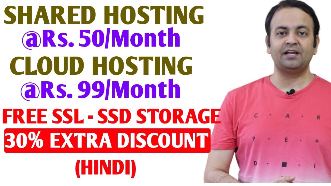 Cheap Web Hosting Services In India For Wordpress [FREE SSL & SSD STORAGE] Techno Vedant