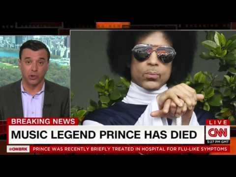 CNN announces Prince dead