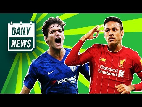Klopp Signs New Liverpool Contract + Neymar Rumours?! ► Daily News