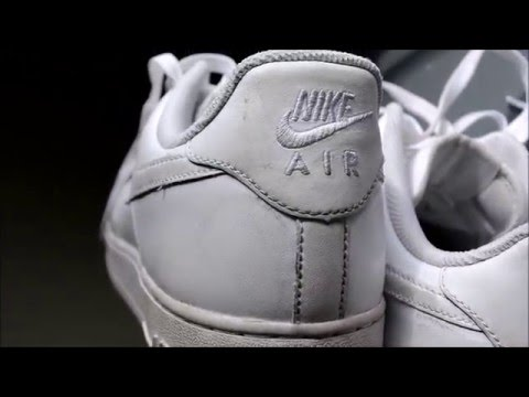 How to make your Air Forces look brand new! [Restoration Video]