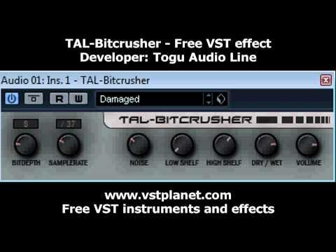 Free VST - TAL-Bitcrusher effect - vstplanet.com