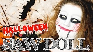 SAW Doll  | Halloween Makeup