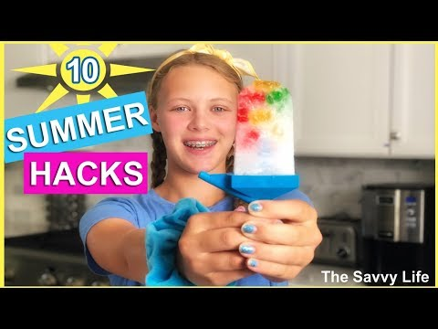 Easy Summer LIFE HACKS Everyone Should Know  The Savvy Life