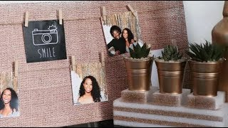 EASY DIY DECOR IDEAS // Wabosha Maxine
