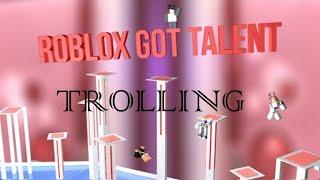 Roblox got Talent Trolling #2! (Admin und Mod Kam!!)