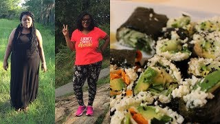 1 MONTH RAW VEGAN! 🙌🏾 🔥 [weight loss? quitting nursing? + raw vegan sushi]