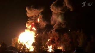 Неисправное электрооборудование стало причиной пожара склада под Нижним Новгородом.