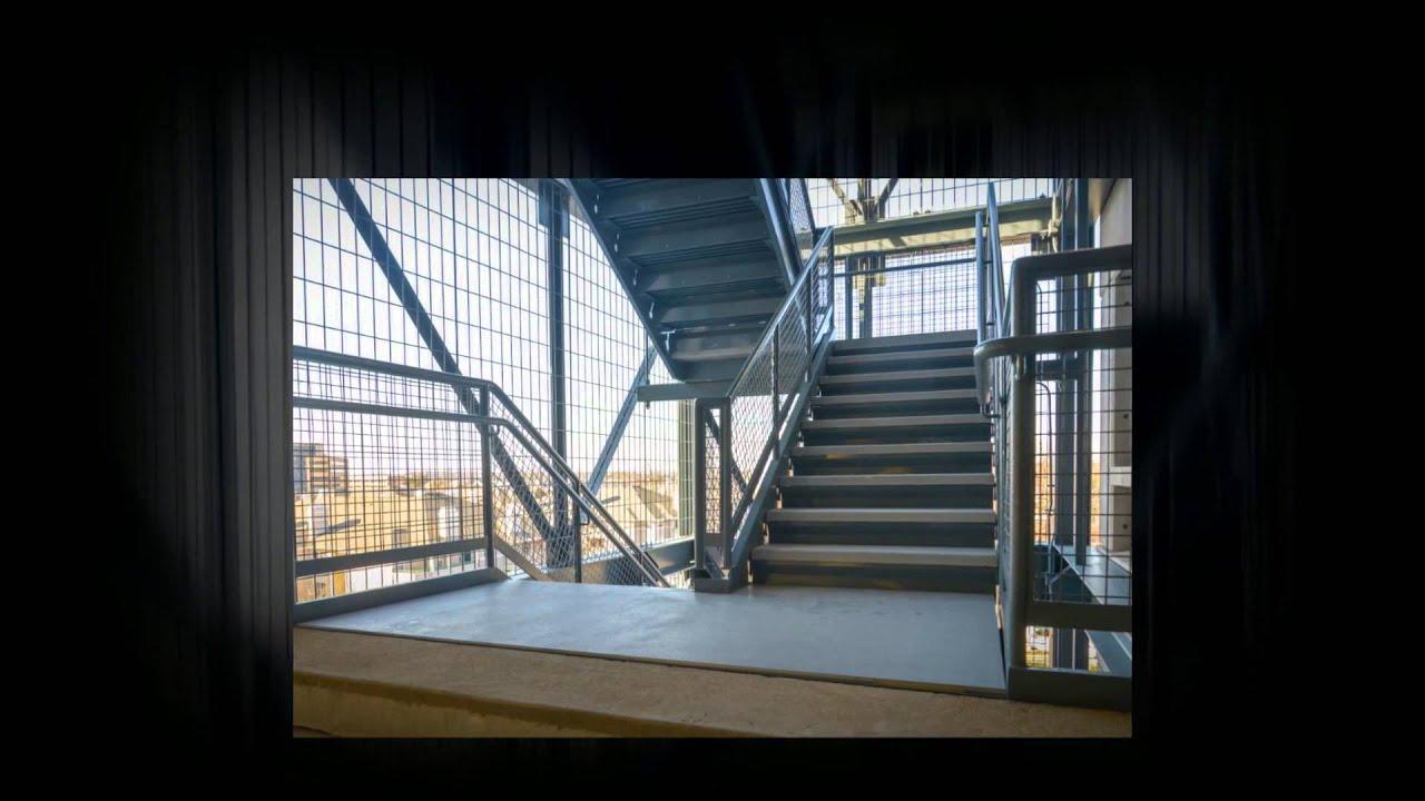 Parking Garage Stairwell Renovation Youtube