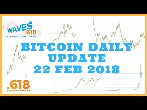 BITCOIN PRICE ANALYSIS - 22 FEB 2018