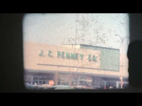 8 mm Vintage 1962 Pittsburgh Pennsylvania St. Patrick Day Parade Shopping Plaza