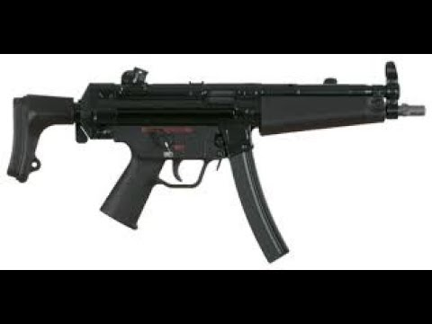 How to properly animate a MP5