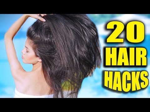 20 HAIR HACKS Every Girl Should Know 💋