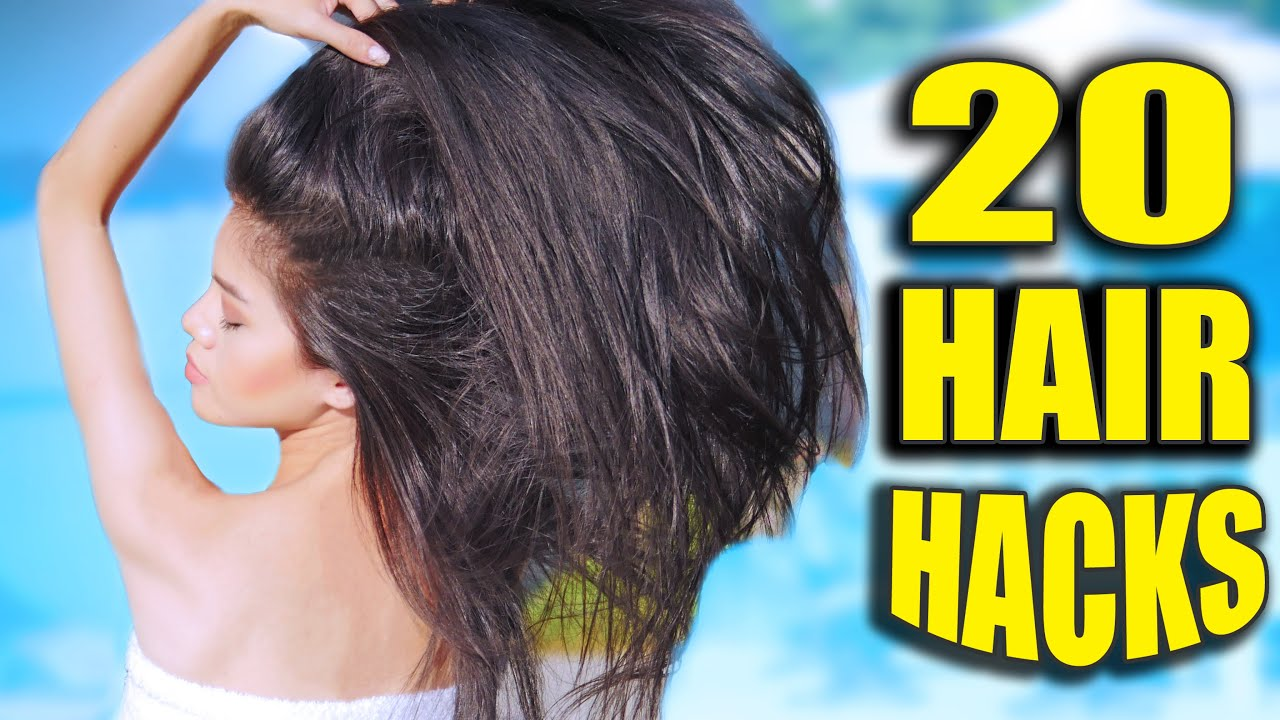 20 HAIR HACKS Every Girl Should Know