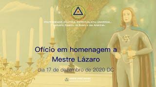 Ofício Solene em homenagem a Mestre Lázaro