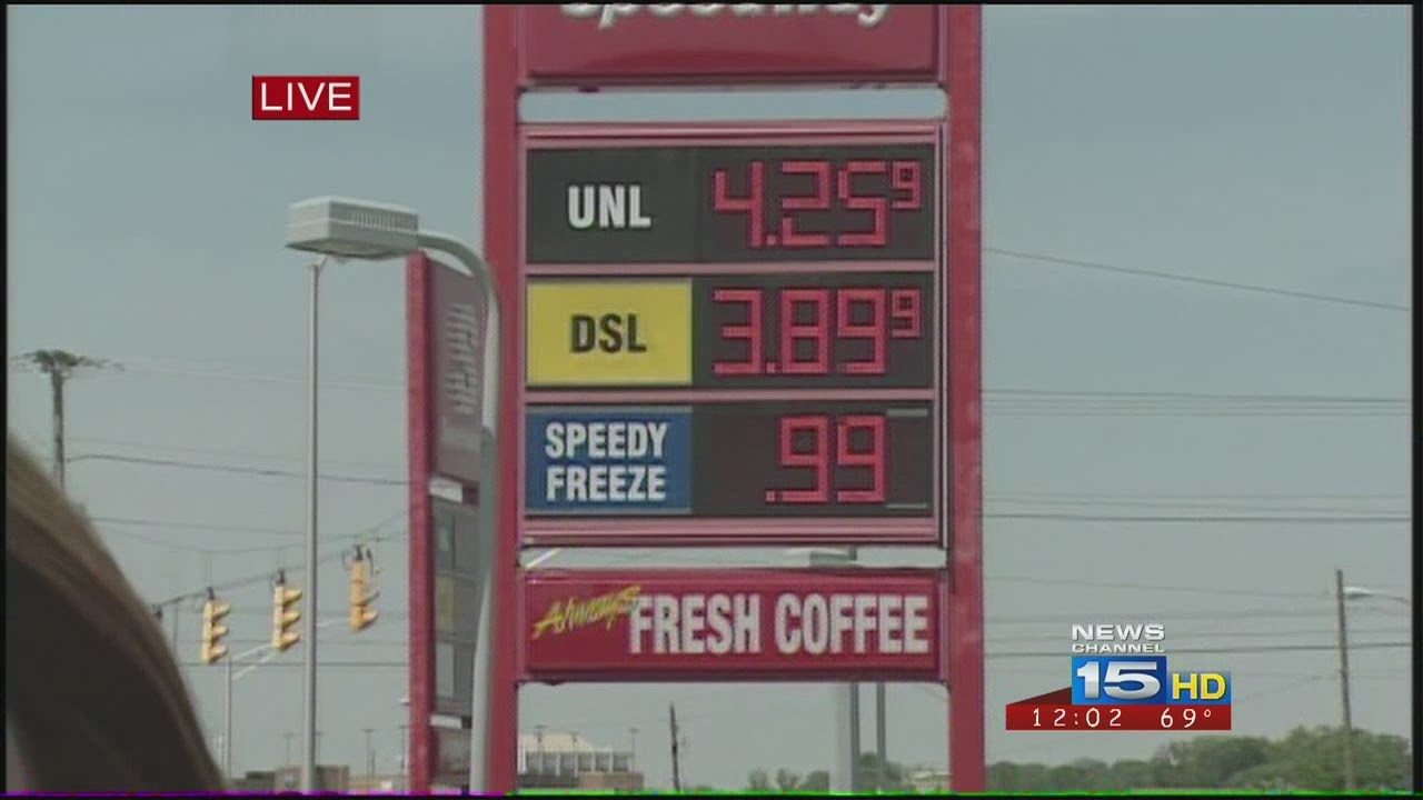 Fort Wayne Gas Prices >> Gas Prices At 4 25 In Fort Wayne