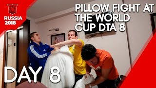 Pillow fight at the World Cup DTA 8