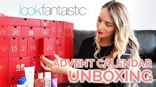 LOOK FANTASTIC ADVENT CALENDAR 2018 UNBOXING | PAULA HOLMES