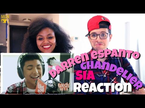 Darren Espanto - Chandelier (Sia) LIVE Cover Reaction