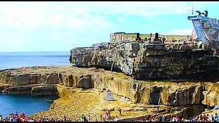 red bull cliff diving ireland serpent s lair