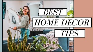 Best Home Decor Tips + Ideas | How To Create Your Dream Home