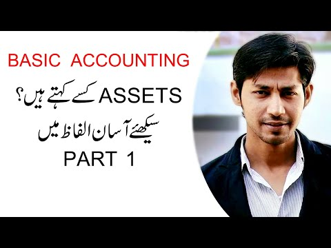 What are Assets | Basic Accounting Terms | in Urdu / hindi