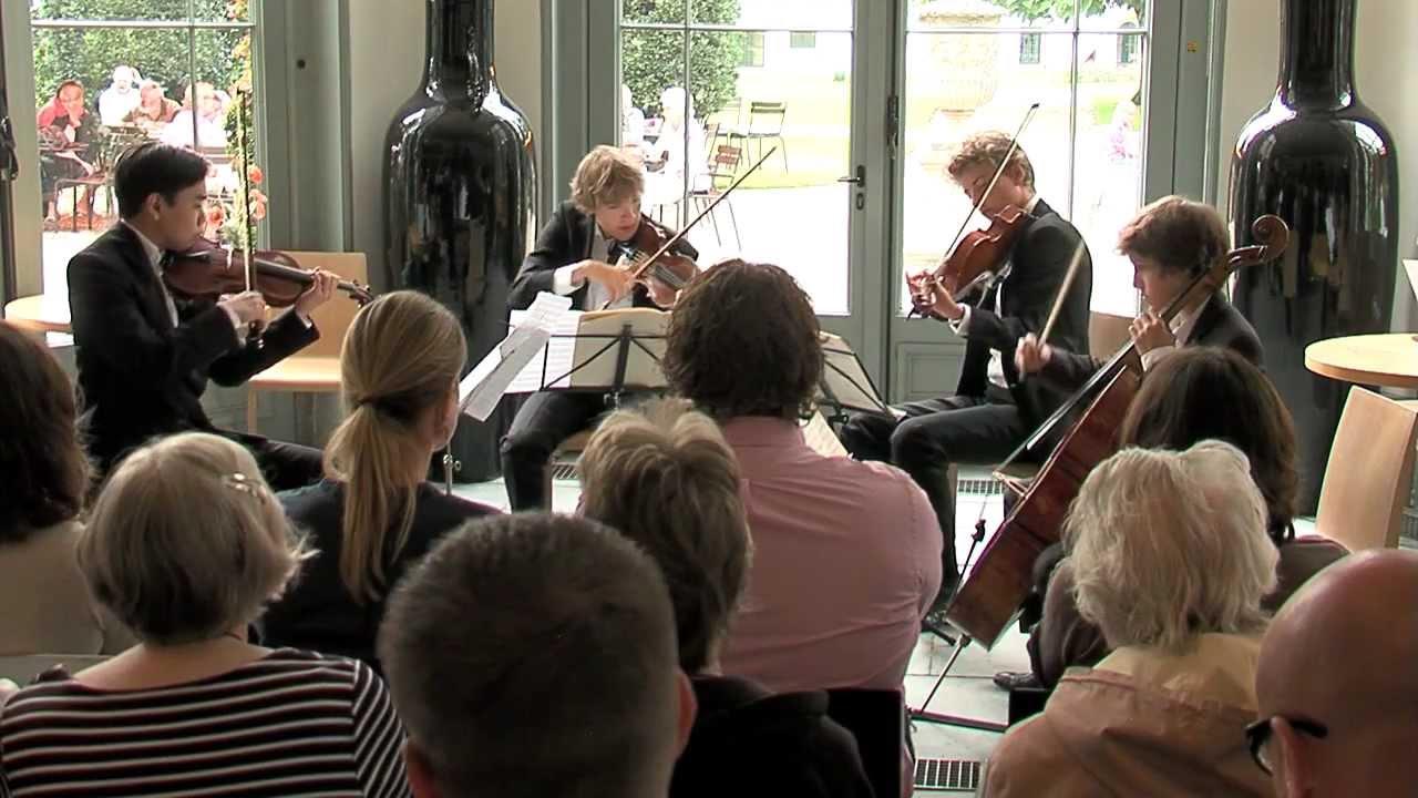 Schubert Death and the Maiden part 2 - Van Baerle Kwartet