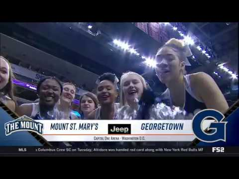 #BIGEASThoops Highlights: Georgetown vs. Mount St. Mary's
